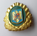 Insigna RARA - Ofiter GRANICERI - Coifura - insemn cascheta - cuc