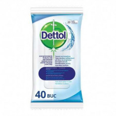 Servetele dezinfectante Dettol Original, 40 buc