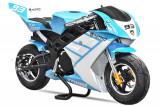Motocicleta electrica Pocket Bike NITRO Eco TRIBO 1060W 36V Albastru