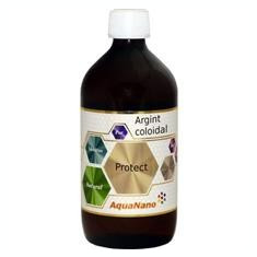 Argint Coloidal AquaNano Protect 15ppm 500ml Aghoras Cod: 18917