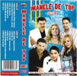 Caseta Manele De Top 2008/2 , originala, holograma