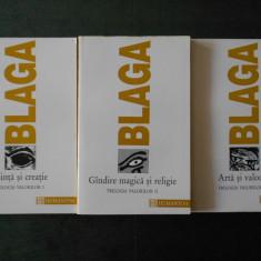 LUCIAN BLAGA - TRILOGIA VALORILOR 3 volume