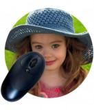 Mousepad rotund pentru sublimare personalizabil