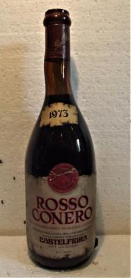59 - VIN  rosu CONERO, DOC, recoltare 1973 cl 72 gr 12,5 foto