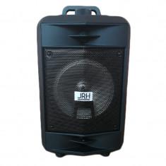 Boxa portabila JRH A62, USB, TF card, 200 W, Negru