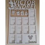 Rama foto Primul Anisor Mickey Mouse, colaj 12 poze, personalizata, Artemis Gift