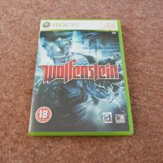 Joc Wolfenstein, XBOX360, original, alte sute de jocuri!, Sporturi, 3+, Multiplayer