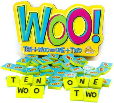 Joc educativ cu litere si numere Woo - Fat Brain Toys foto