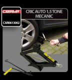 Cric auto 1,5 tone mecanic Carpoint - CRD-CAR0613002 Auto Lux Edition