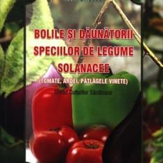 Bolile şi dăunătorii speciilor de legume solanacee: Tomate, Ardei, Vinete