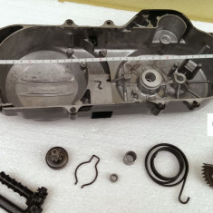 "Capac Transmisie COMPLET Scuter Chinezesc Gy6 4T -  Roata 10"" 40cm - Curea 669"