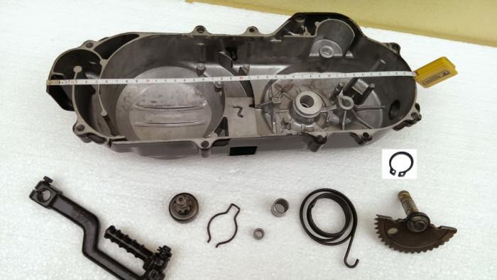 "Capac Transmisie COMPLET Scuter First Byke Bike 4T -  Roata 10"" 40cm - Curea 669"