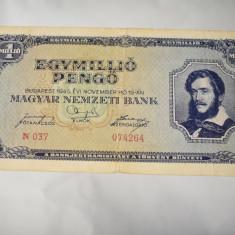 Bancnota Ungaria - 1000000 Pengo 1945 - un milion pengo / egymillio