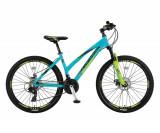 "Bicicleta MTB Umit Camaro Lady 2D, Roata 26"", Cadru 16"" , Aluminiu, 21 Viteze CuPB Cod:26630160001"