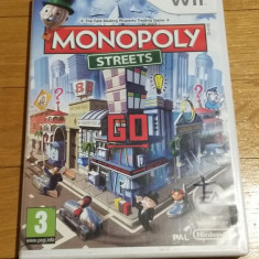 WII Monopoly streets original PAL / by Wadder, Board games, 3+, Multiplayer, Electronic Arts