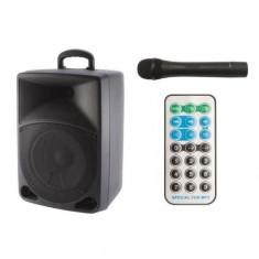 Boxa portabila activaSal PAB 20A, bluetooth, radio FM, USB/SD/SDHC/MMC , HI-FI, Karaoke, Bass-Reflex Mania Tools