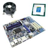 Kit Placa de Baza Intel DH67CL, Intel Quad Core i7-2600K, Cooler