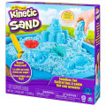 Nisip kinetic modelabil set complet albastru 454 grame - Kinetic Sand
