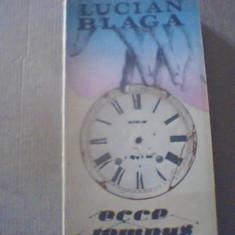 Lucian Blaga - ECCE TEMPUS { Poezie politica } / 1992