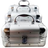Set 3 Casete De Bijuterii Din Aluminiu