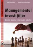 Cumpara ieftin Managementul investitiilor. Abordari teoretice si instrumente aplicative