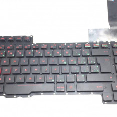 Tastatura Laptop Asus Rog G752VS iluminata layout CA