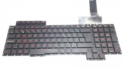 Tastatura Laptop Asus Rog G752 iluminata layout CA foto