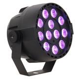 Cumpara ieftin Proiector compact portabil, 12 LED-uri 3 in 1 RGB 3 W, 7 canale DMX