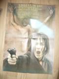 Afis Film - Undeva in Est -1991 regie N.Margineanu cu R.Margineanu 48x67cm