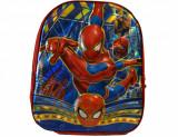 Ghiozdan 3D Mediu pentru copii SpiderMan