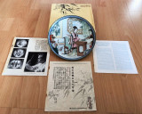 Farfurie - decoartiva / colectie - Imperial Jingdezhen China - 1987 - certificat