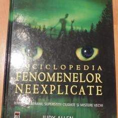 Enciclopedia fenomenelor neexplicate de Judy Allen