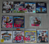 joc PlayStation 3/PS3:Soul Calibur,Naruto,Smack Down wrestling,Buzz!,FIFA 14