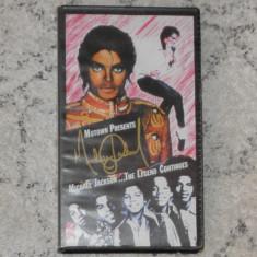 Caseta video VHS originala - Michael Jackson...The Legend Continues, muzica