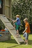Modul pentru spatiu de joaca Rampa Blue Rabbit