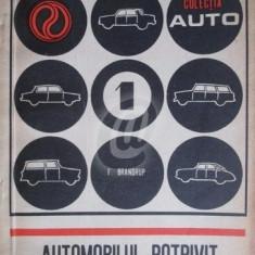 Automobilul potrivit