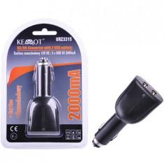 ALIMENTATOR DC/2 X USB 5V 2000MA EuroGoods Quality
