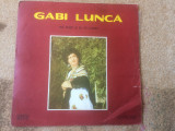 Gabi lunca ma dusei si eu in codru disc vinyl lp muzica populara lautareasca, VINIL, electrecord