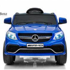 Kinderauto Mercedes GLE63S 2x22W 12V PREMIUM Albastru
