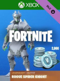 Fortnite Legendary Rogue Spider Knight Outfit + 2000 V-Bucks Xbox One
