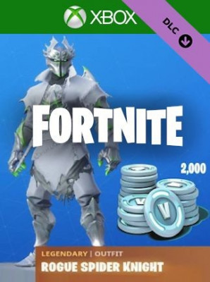 Fortnite Legendary Rogue Spider Knight Outfit + 2000 V-Bucks Xbox One foto