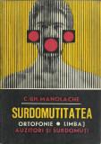 AS - C. GH. MANOLACHE - SURDOMUTITATEA