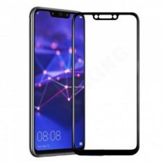 Folie protectie display sticla 6D FULL GLUE Huawei Mate 20 Lite BLACK