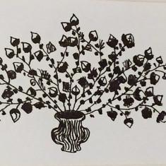 """Pictura Tablou Viorel Marginean """"Vaza cu flori"""""""