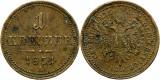 1851 A (Viena), 1 kreuzer - Franz Joseph - Imperiul Habsburgic!, Europa