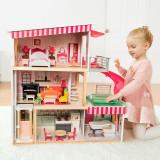 Casuta din lemn pentru papusi PlayLearn Toys