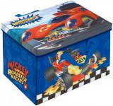 Cutie pentru depozitare jucarii transformabila Mickey Mouse and The Roadster...