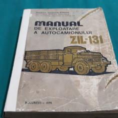MANUAL DE EXPLOATARE A AUTOCAMIONULUI ZIL 131/1975