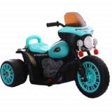 Motocicleta Electrica de Politie 6V Albastru
