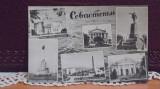 URSS - SEVASTOPOL - 6 VEDERI DIN ORAS - 1964 - CIRCULATA, HIRTIE SPECIALA., Rusia, Printata